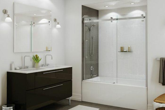 Badewanne mit t r aktuelle vorschl ge for Aktuelle badezimmer fliesen