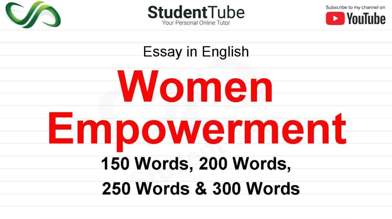 Women Empowerment Essay On Impowerment