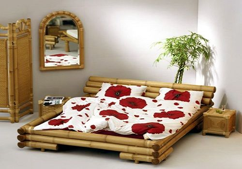 Dormitorio de Bambú • Bamboo bedroom | Dormitorios • Bedrooms ...