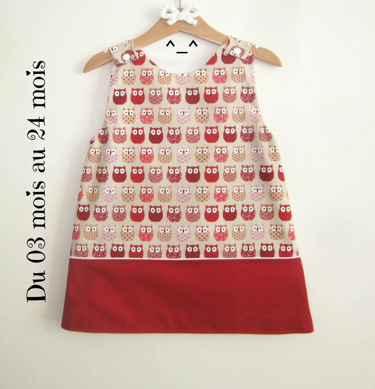 robe chouette robe des fille bébé coton avec en robe robe HxTwqARPq