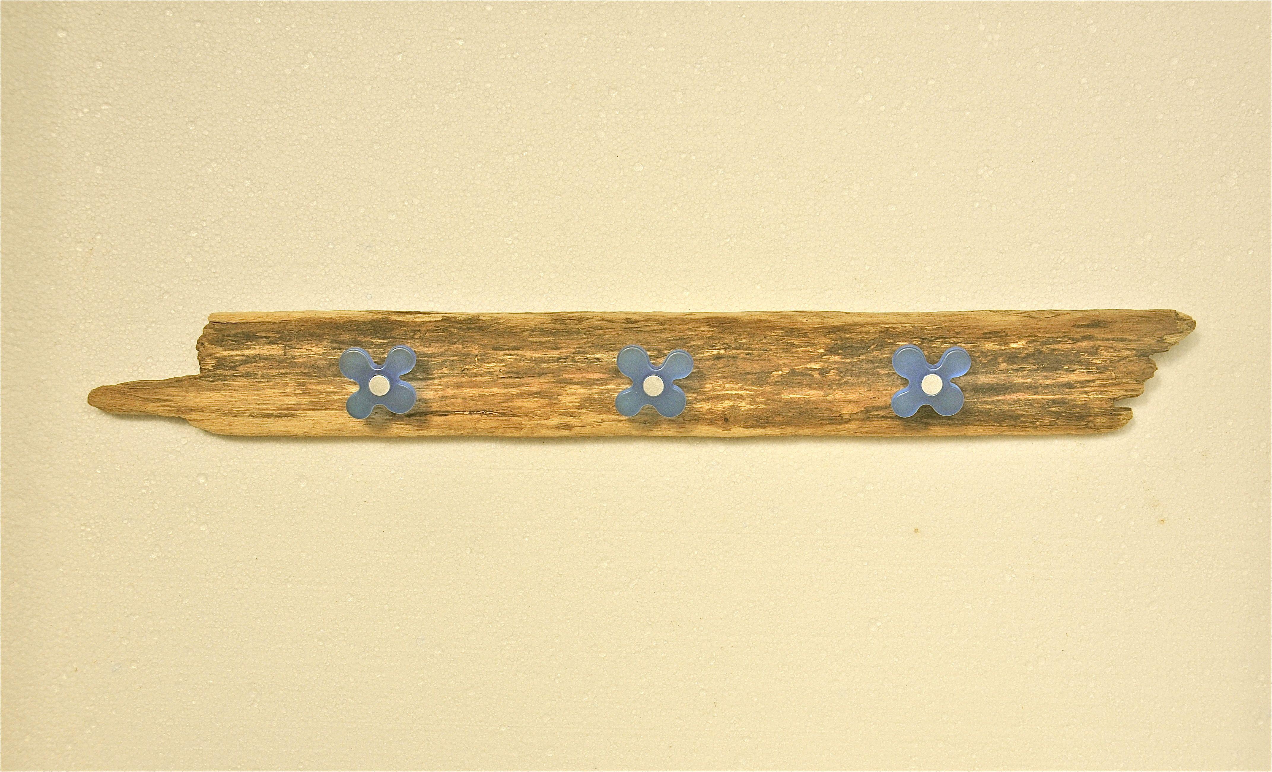 Driftwood Coat Rack | Driftwood, Glass, Pottery, Mosaic ...