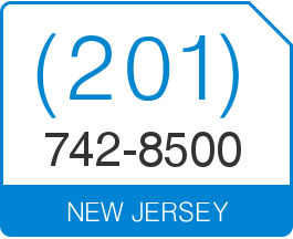 New Jersey Area Code 201 Local Vanity Telephone Number