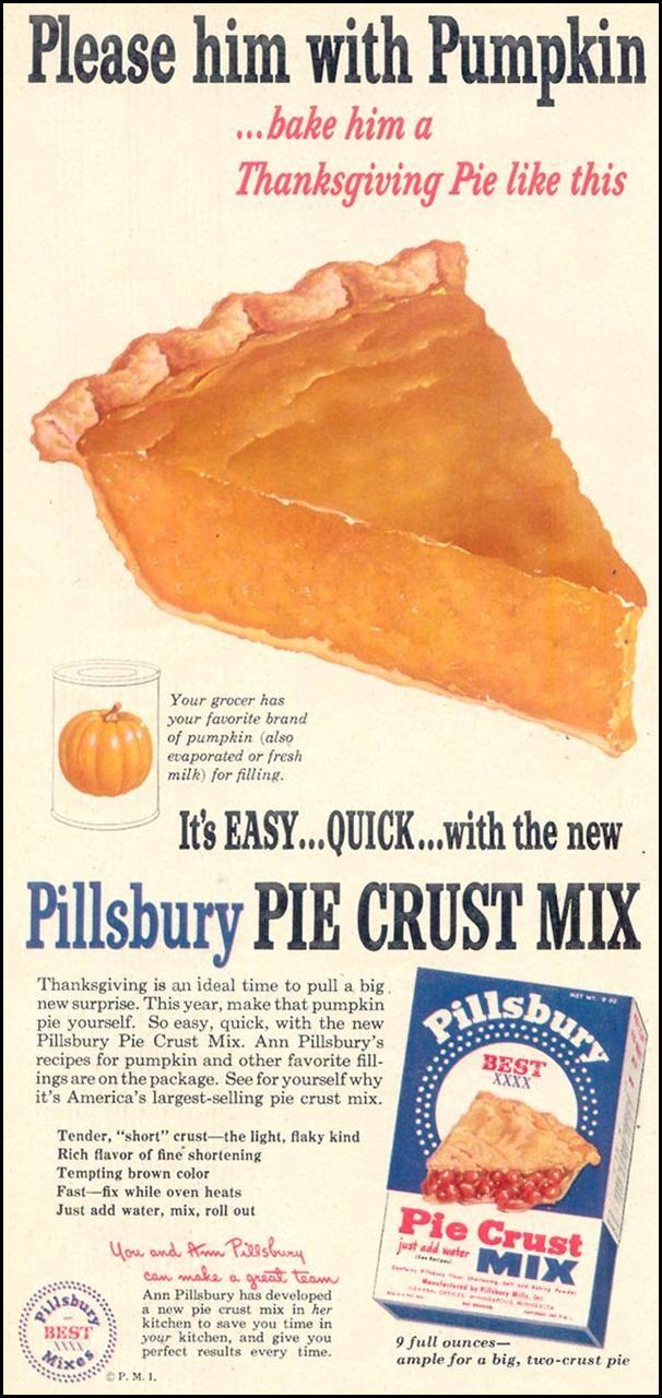 Vintage Baking Food Ads Retro Thanksgiving Desserts Scrapbook Recipes Advertising Signs