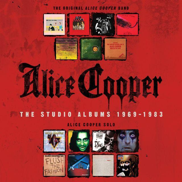 Alice Cooper The Studio Albums 1969 1983 Box Set Due In July