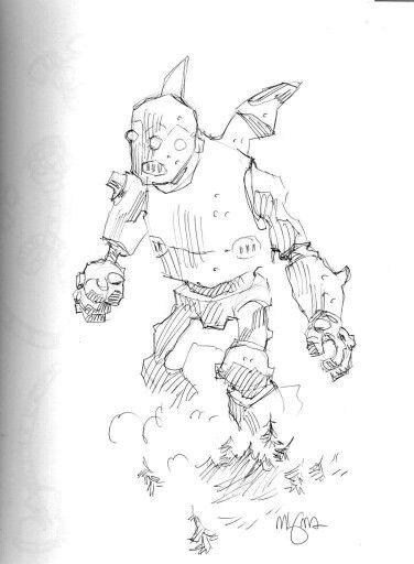 Mike Mignola sketch