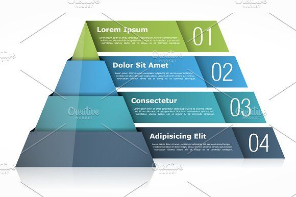 Pyramid Chart In 2020 Pyramids Infographic Web Design Inspiration