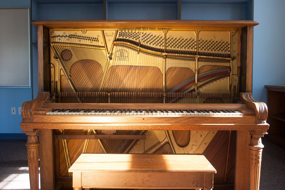 Image result for rehearsal upright piano upright piano