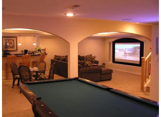 Open Basement Home Theater #movies #shop #deals #experience explore