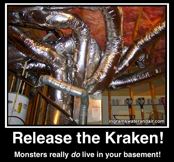 What S Living In Your Basement Hvac Contractor Hvac Humor Hvac