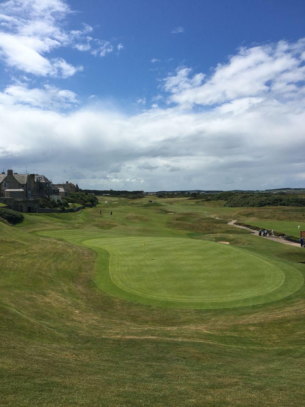 Pin On Golf Links