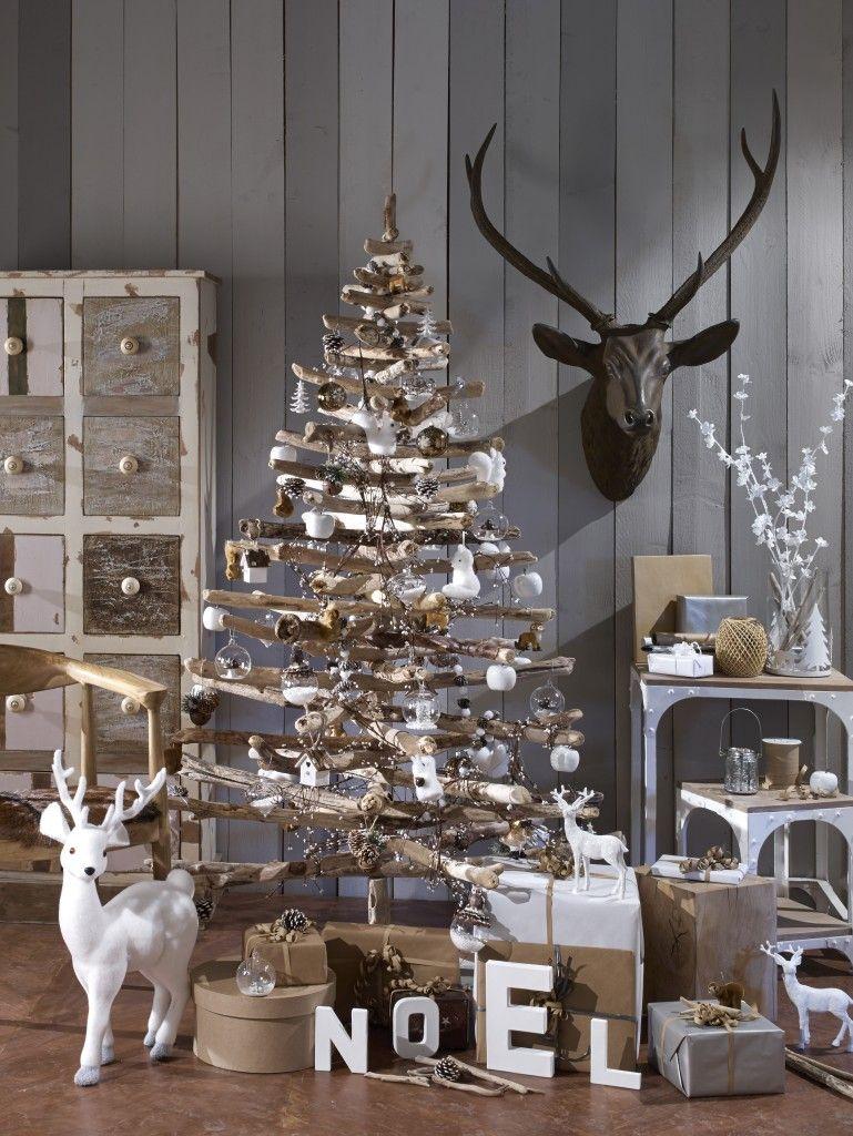 Un sapin de Noël d\'inspiration scandinave   Ideas for a ...