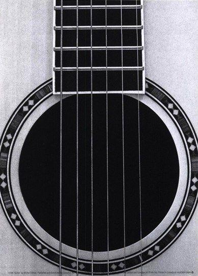 Acoustic Guitar - Rosette