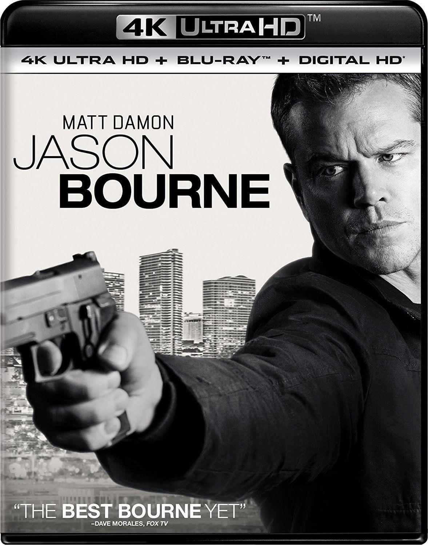 Jason Bourne 4k 2016 Ultra Hd Blu Ray Jason Bourne Matt Damon Matt Damon Jason Bourne