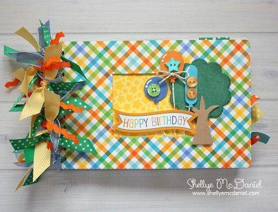 Scrapbook Covers Photo Album Pages Pinterest Mini Photo