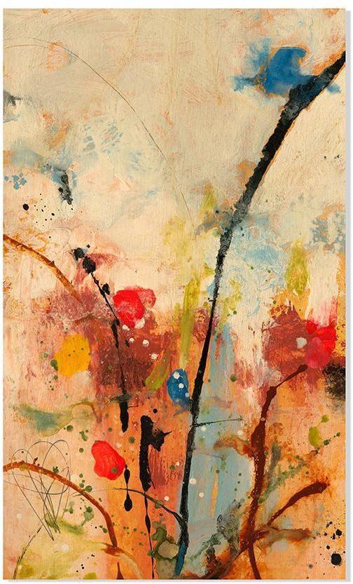 Spring Awakens I Wood Wall Art | Color Invasion Fall Decor ...