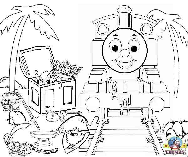 Pics For > Thomas The Train And Friends Printable Coloring Pages ...