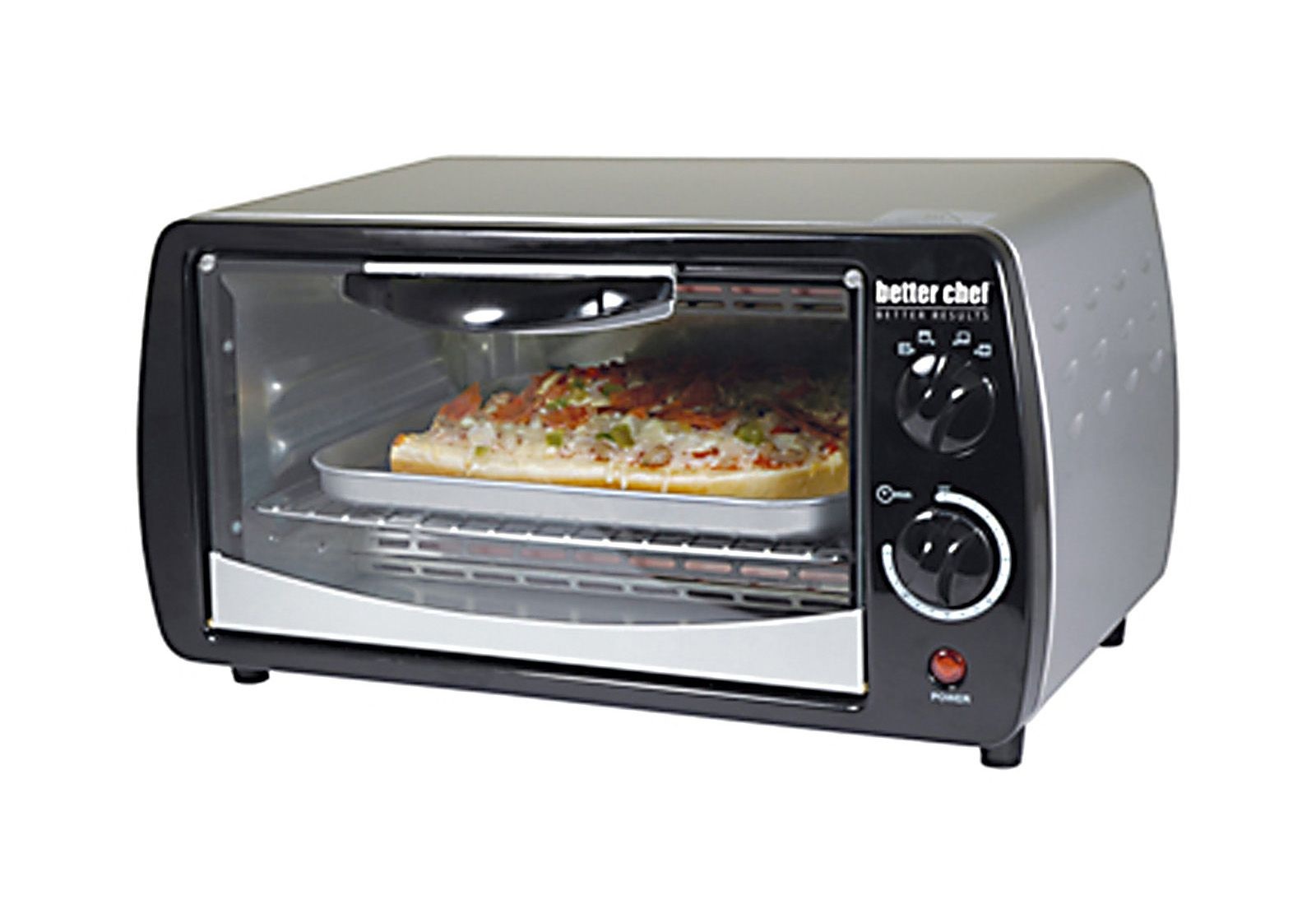 Better Chef Large Capacity 9 Liter Toaster Oven Silver Toaster Oven Stainless Steel Toaster Best Chef