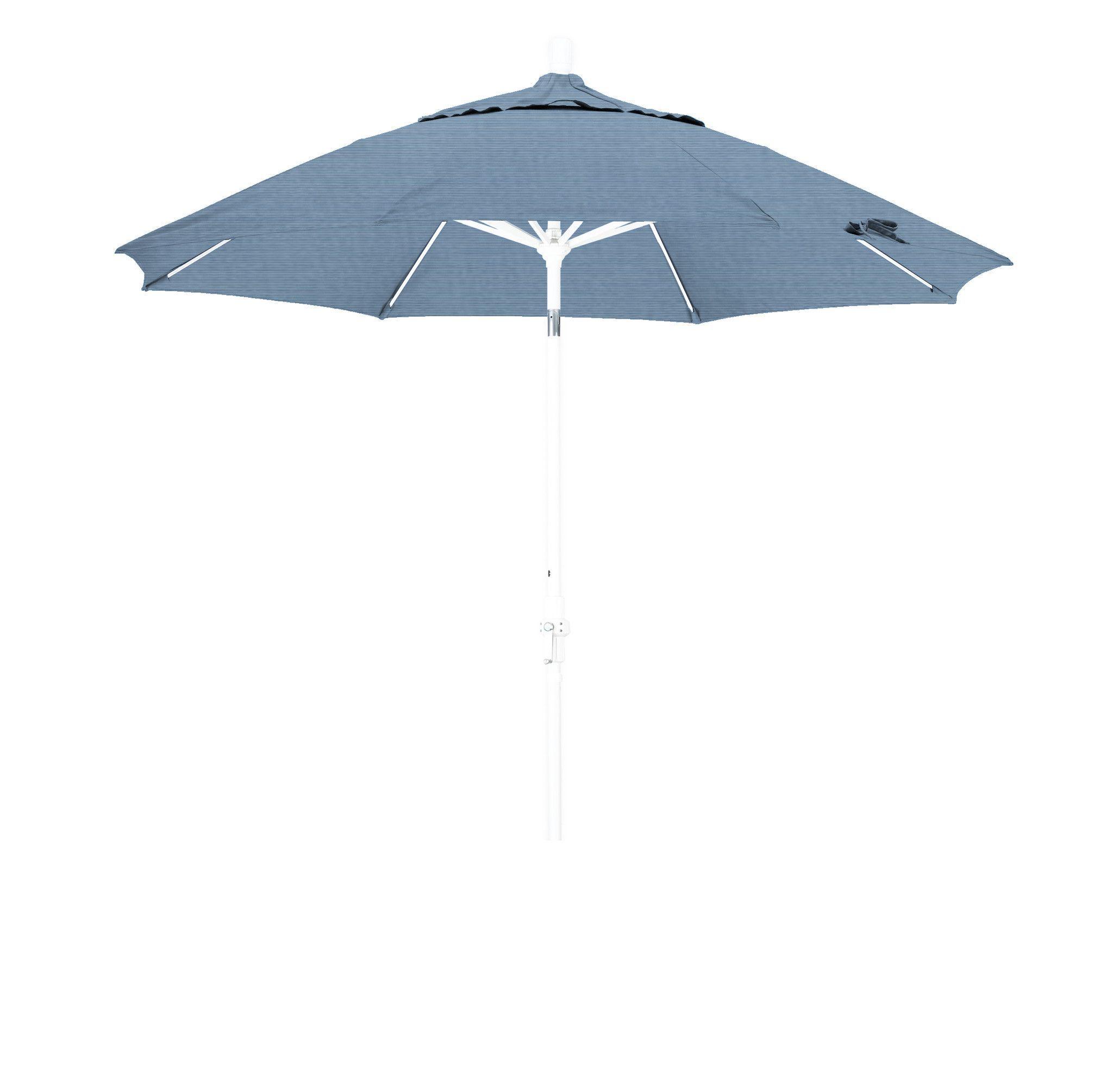 Eclipse Collection 9 Fiberglass Market Umbrella Collar Tilt M