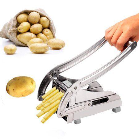 Stainless Steel French Fry Cutter Maker Vegetable Slicer