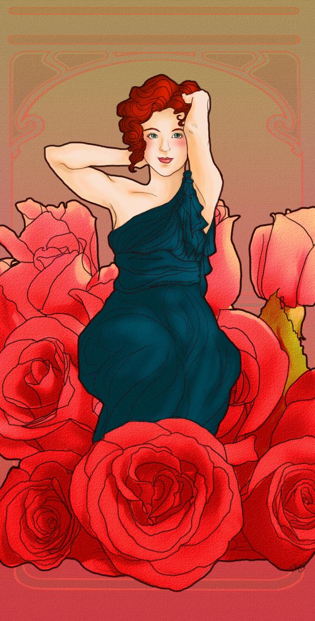 Bridesmaid Rose by hatchback-girl.deviantart.com on @deviantART