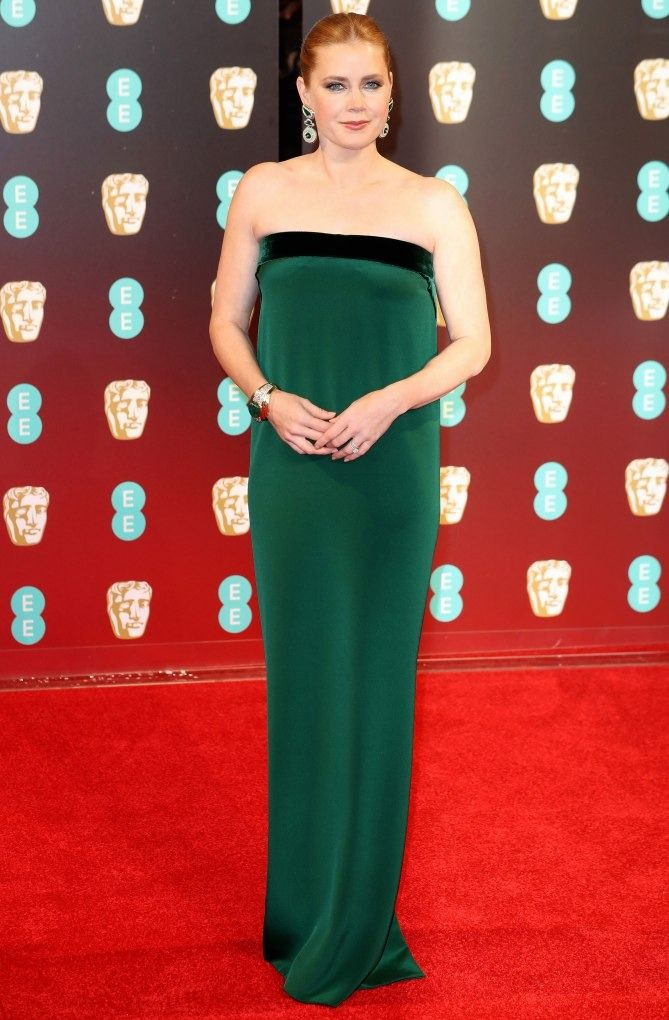 See All The Glamorous Looks From The Bafta Awards Red Carpet Bafta Red Carpet Nice Dresses Celebrity Red Carpet