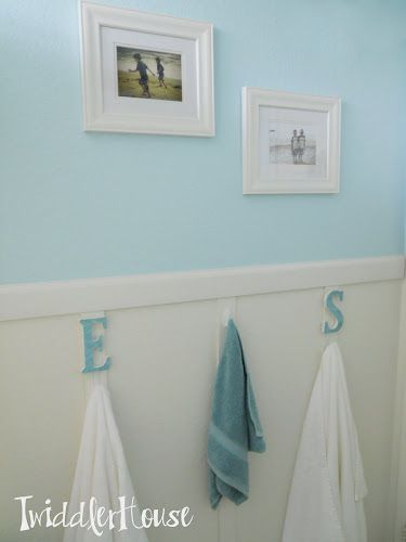 Bathroom Hooks Add Letters To Shelf In Noah S Using Something Removable Like Ticky
