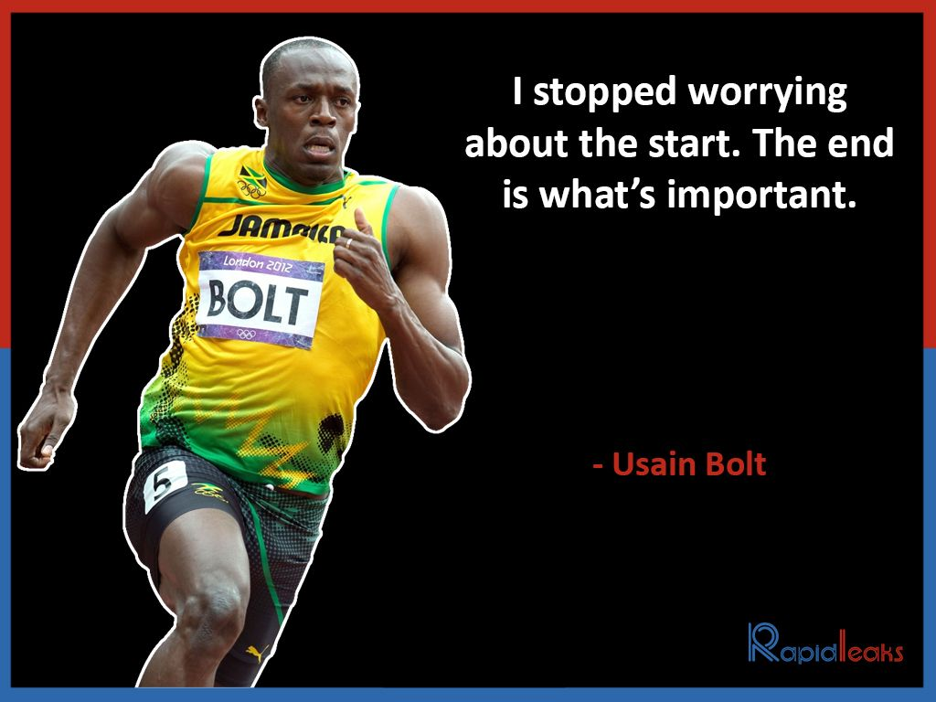 Usain Bolt These Quotes By The Real Life Flash Will Make You Work Hard Towards Success Usain Bolt Usain Bolt Quotes Caribbean Quote