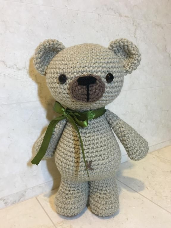 (4) Name: 'Crocheting : Crochet Standing Bear