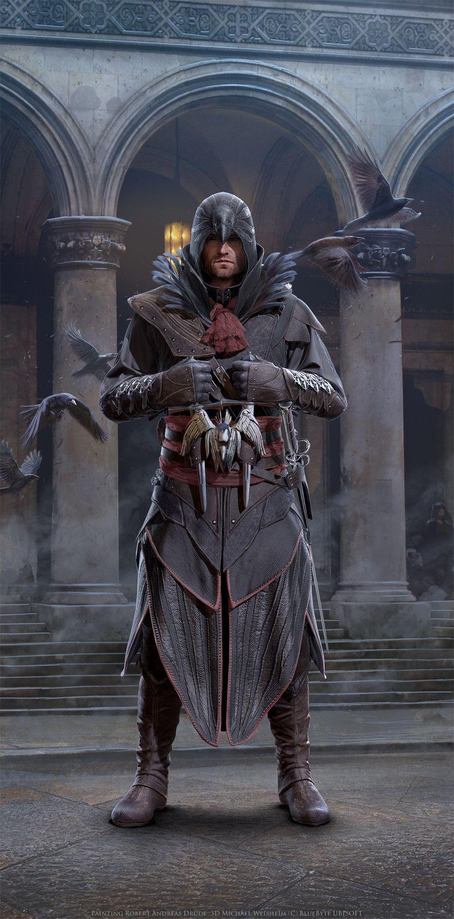 Artstation Assassins Creed Identity Characters Andi Drude