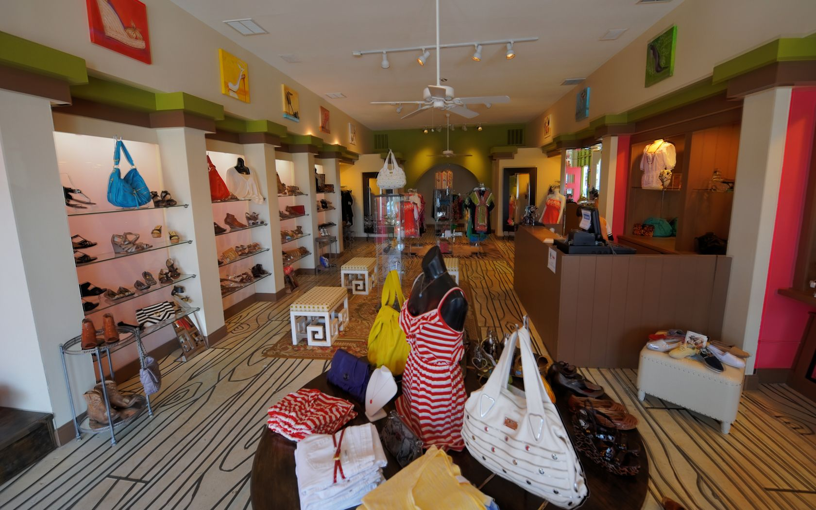 Houston shoe store womens clothing boutique store rice