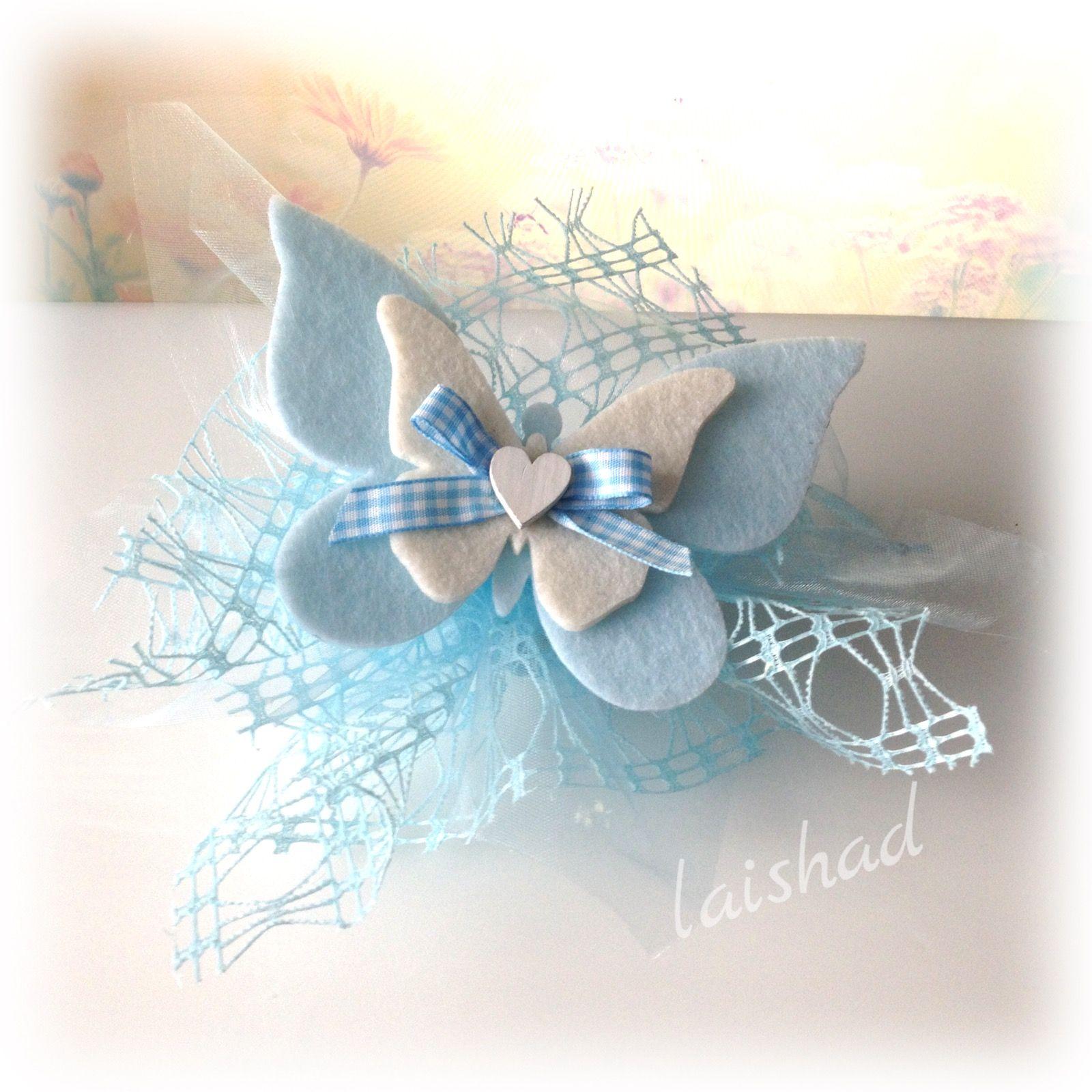 Farfalle Decorative Fai Da Te bomboniera farfalla feltro | bomboniere per bambina