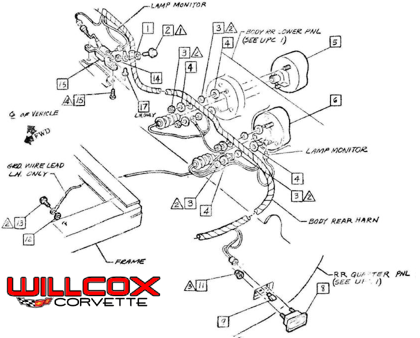 Electrical Archives Willcox Corvette Inc In 2020 Corvette 1976 Corvette Corvette C3