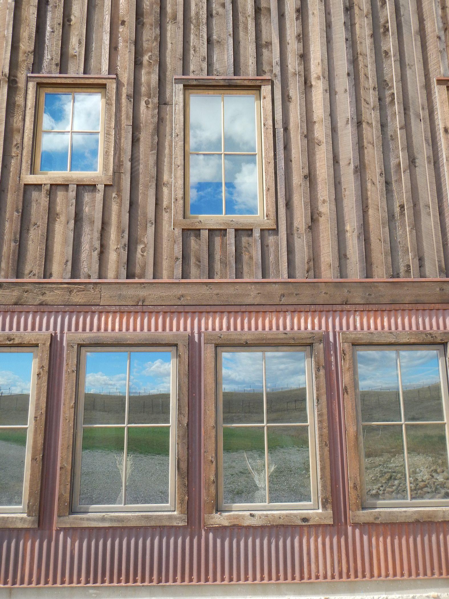 Truten corrugated siding poverty ridge pinterest rustic