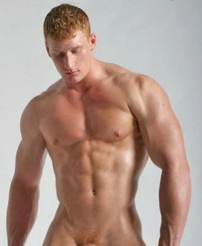 Hot redhed hommes nus
