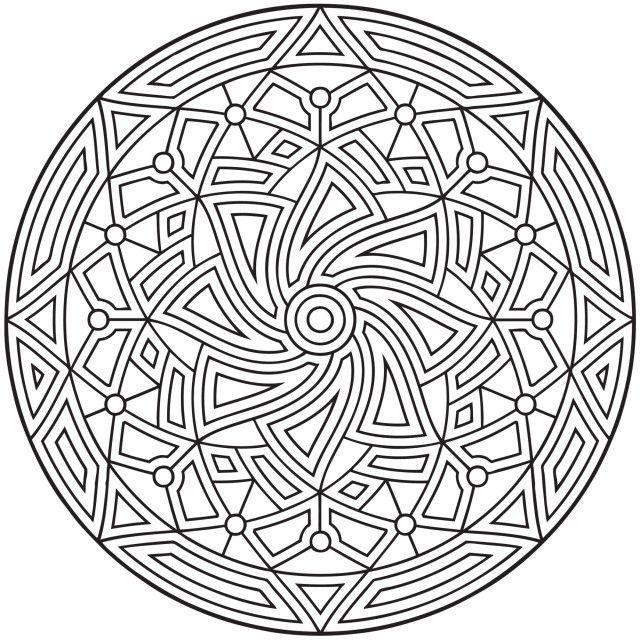 Mandala orientalisch | Coloring Pages | Pinterest | Orientalisch ...