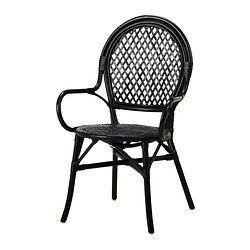 Almsta Chaise Rotin Noir Stuhle Ikea Stuhl Ikea Esszimmerstuhle