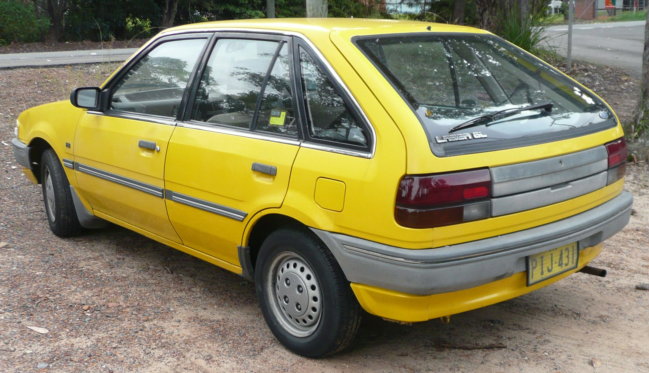 1987 1990 Ford Laser Gl Hatchback