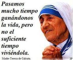 Imágenes Con Frases De Madre Teresa De Calcuta Vivir La