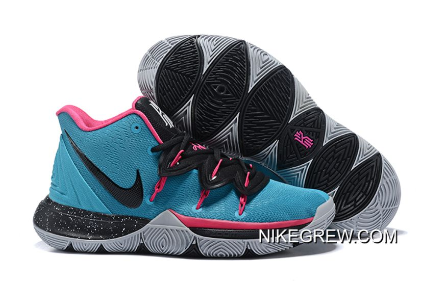c257f5184818 Nike Kyrie 5 Multi-Color Metallic Silver AO2918 900 Men s Basketball Shoes  Irving Sneakers