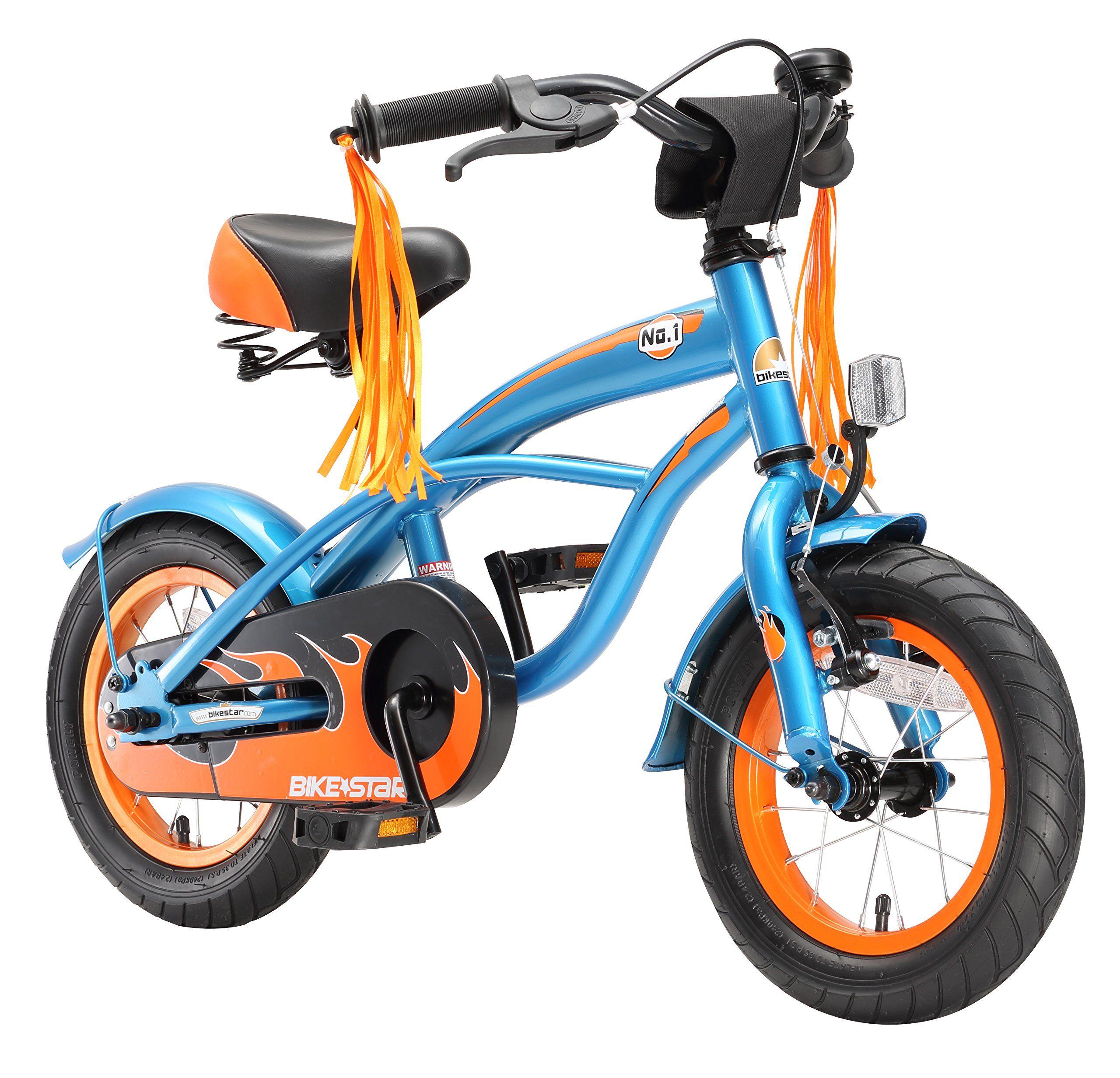 cd859517cb580 BIKESTAR® Original Premium Safety Sport Kids Bike with sidestand and  accessories for age 3 year old children