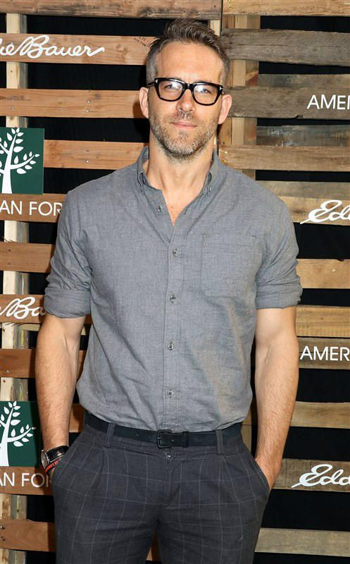 Ryan Reynolds hits an event for the restoration of forests, plus more celeb pics…