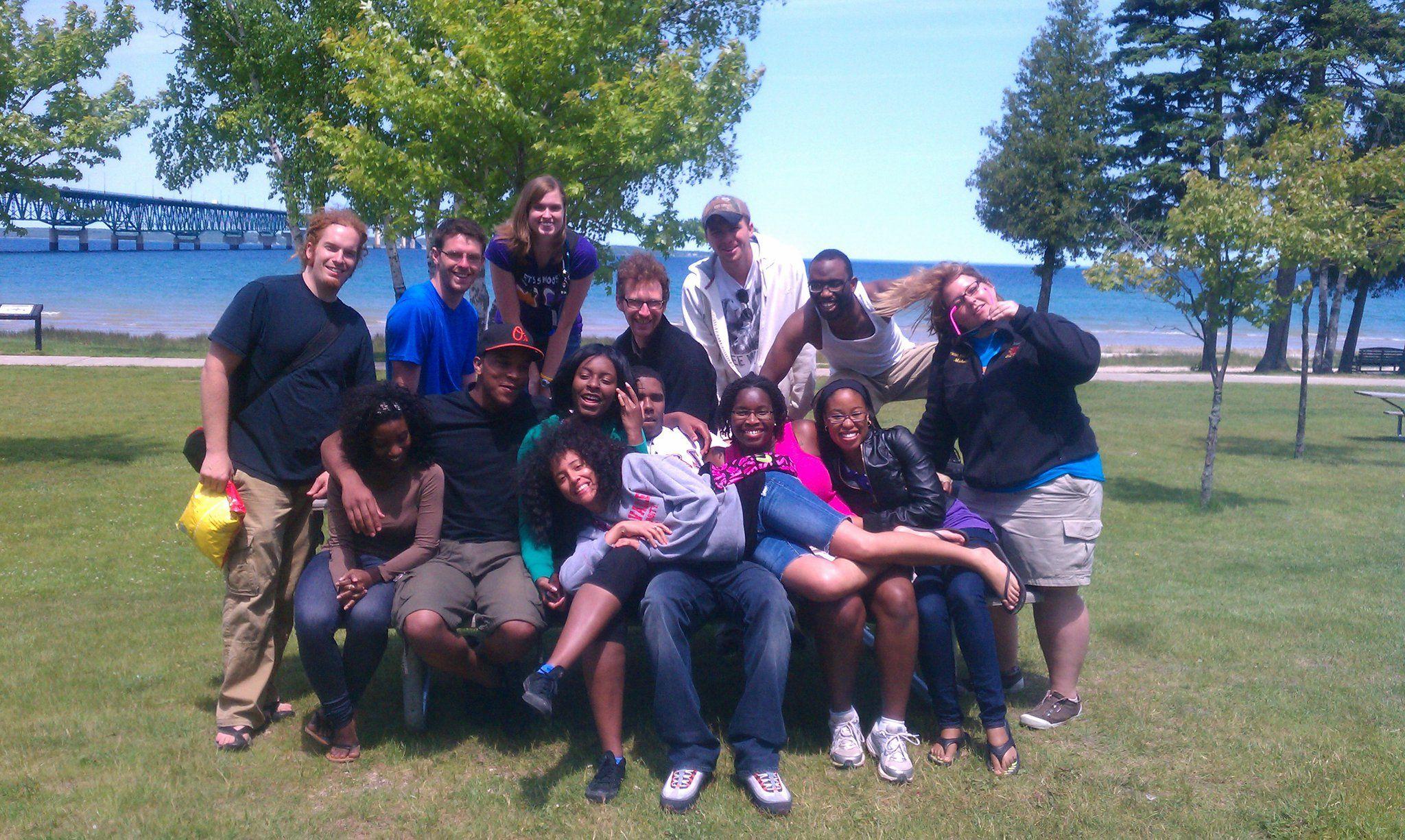 Camp Life at its best 2k11.  Holly, MI. BKB Academy.  Camp Incitatos.  All Staff.