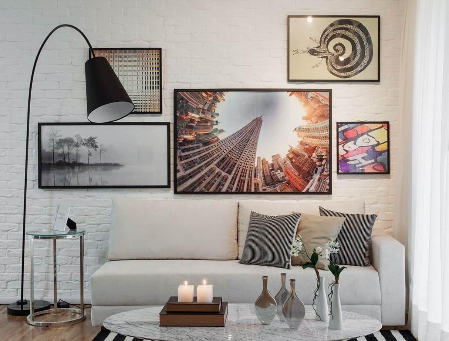 Fotos De Decora O Design De Interiores E Reformas -> Sala De Estar Decorada Tok Stok