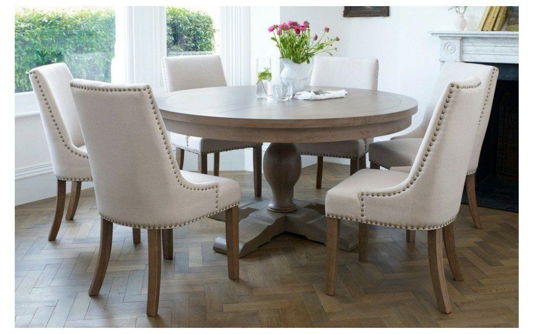 Pin By Kristy King On Beach House In 2021 Round Dining Room Sets Round Dining Room Round Dining Room Table Round wooden tables and chairs