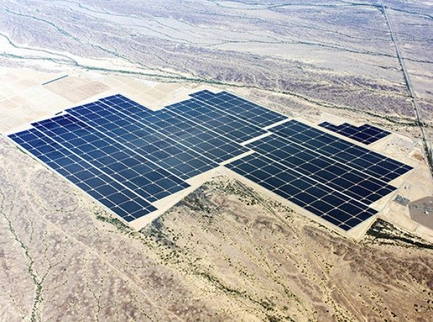 Arquitetura Sustentavel: EUA inauguram a maior usina solar do mundo