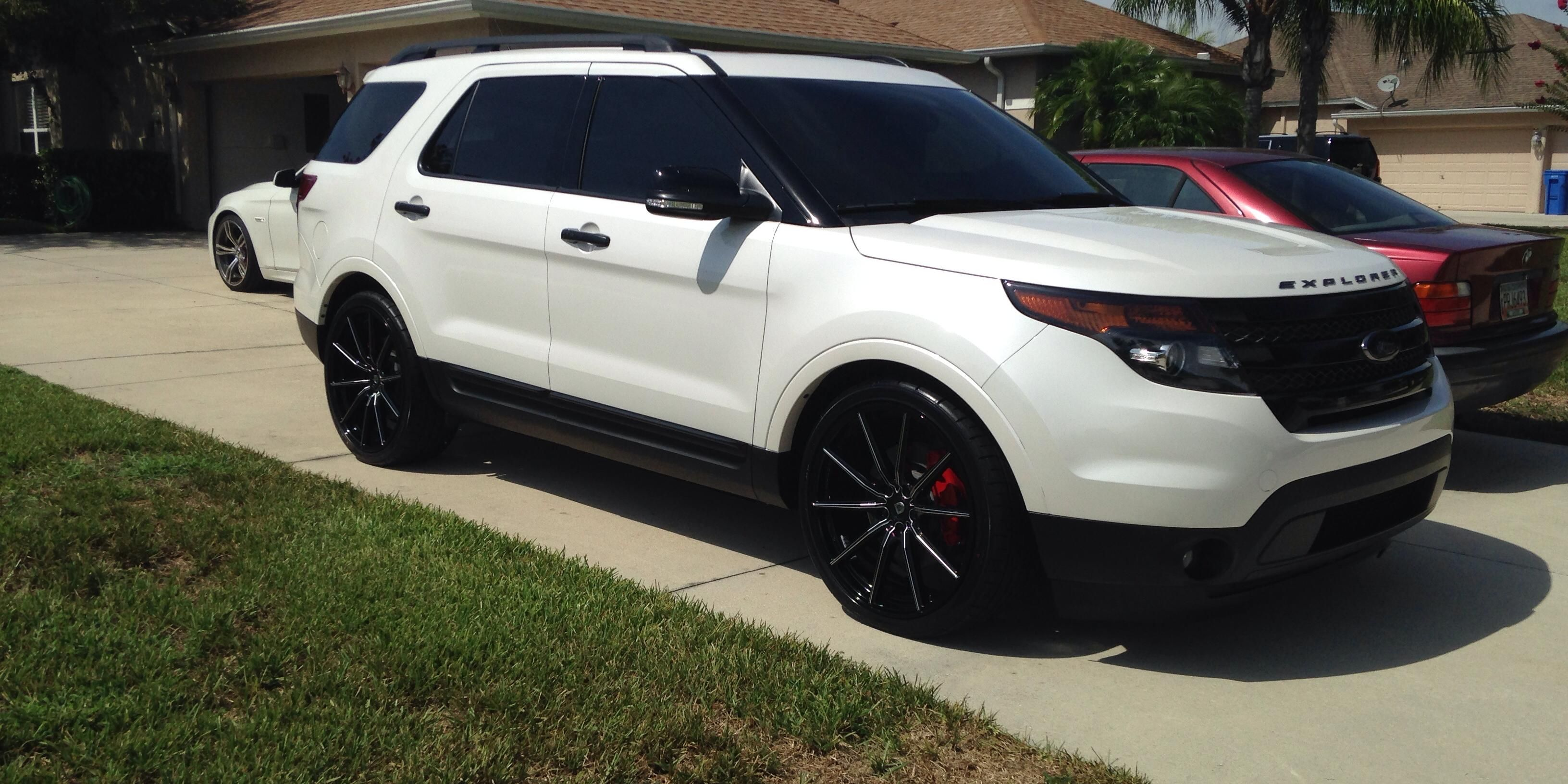 Exactly How I Plan For The Explorer To Look Once The Guys Get Done With It Can T Wait Ford Explorer Sport 2014 Ford Explorer Ford Explorer