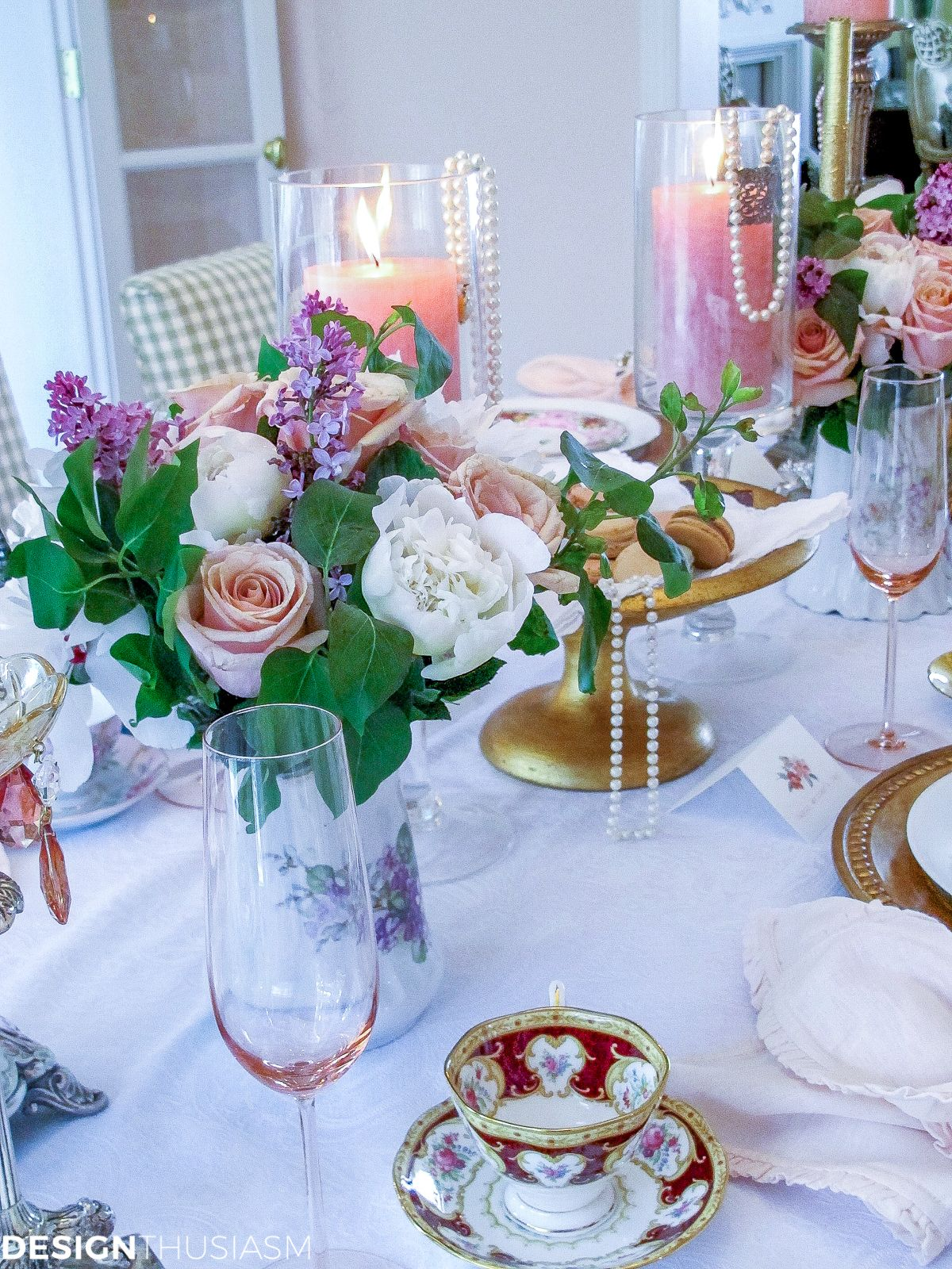 Mother S Day Decoration Ideas A Vintage Brunch Table Setting