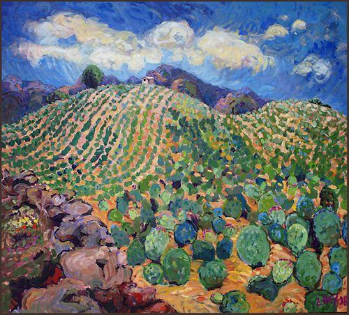 Cerro el Nopal by uteart,