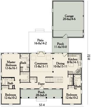 Westfield 3490 3 Bedrooms And 3 5 Baths The House Designers House Plans How To Plan Floor Plans
