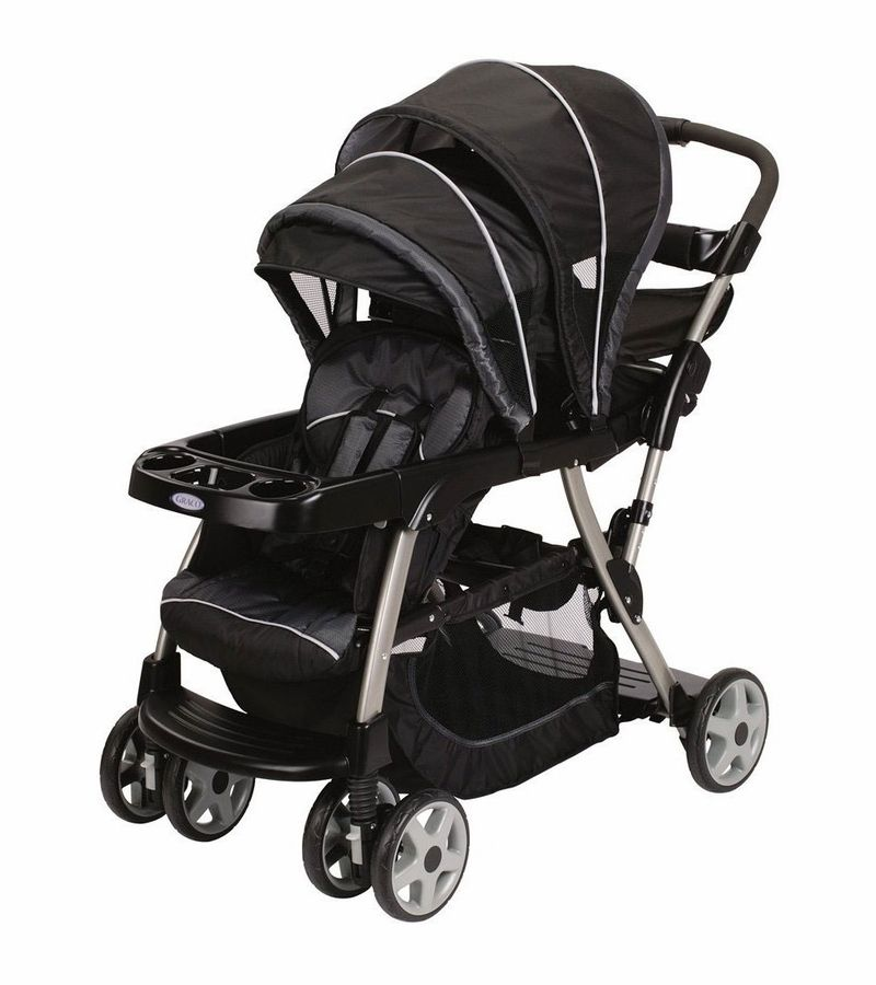 Graco Ready2Grow Classic Connect LX Duo Stroller